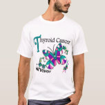 Survivor 6 Thyroid Cancer T-Shirt