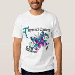 Survivor 6 Thyroid Cancer T-shirts