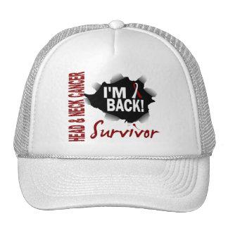 Survivor 7 Head Neck Cancer Mesh Hats