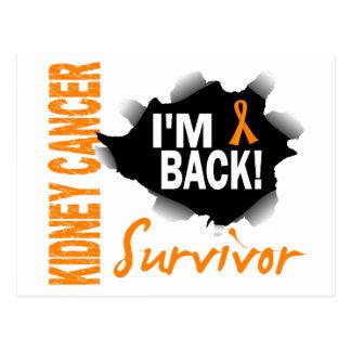 Survivor 7 Kidney Cancer Postcard