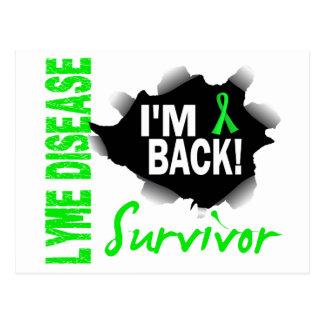 Survivor 7 Lyme Disease Postcard