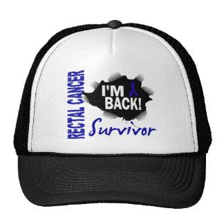 Survivor 7 Rectal Cancer Trucker Hat