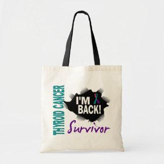 Survivor 7 Thyroid Cancer Canvas Bag