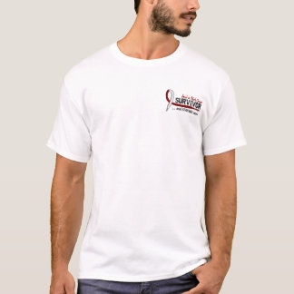 Survivor 8 Head Neck Cancer T-Shirt