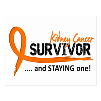 Survivor 8 Kidney Cancer Postcard