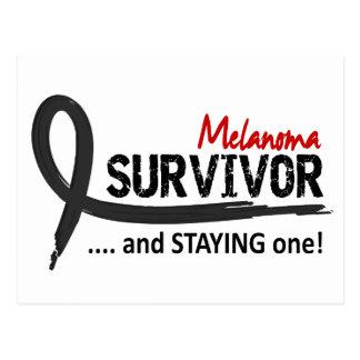 Survivor 8 Melanoma Postcard