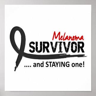 Survivor 8 Melanoma Posters