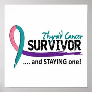Survivor 8 Thyroid Cancer Poster