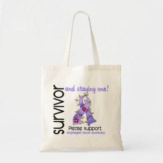 Survivor 9 Esophageal Cancer Tote Bags
