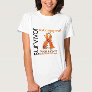 Survivor 9 Kidney Cancer T-shirt