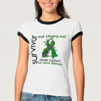 Survivor 9 Liver Cancer Tshirt