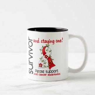 Survivor 9 Oral Cancer Coffee Mugs