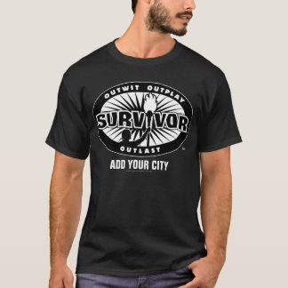 Survivor / Add Your City T-Shirt