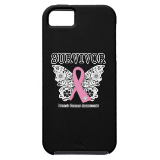 SURVIVOR - Breast Cancer Butterfly Case For The iPhone 5