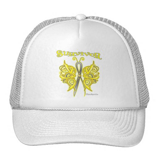 Survivor Celtic Butterfly - Bladder Cancer Mesh Hat