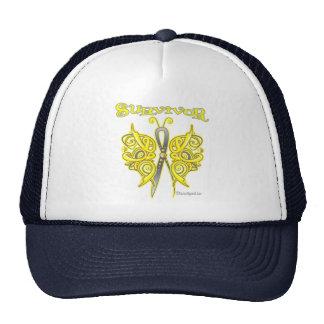 Survivor Celtic Butterfly - Bladder Cancer Mesh Hats