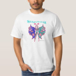 Survivor Celtic Butterfly - Thyroid Cancer Tee Shirts