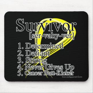 Survivor Definition - Bladder Cancer Mouse Pad