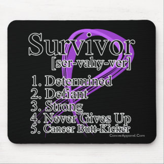 Survivor Definition - Pancreatic Cancer Mouse Pad
