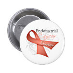 Survivor - Endometrial Cancer Badges