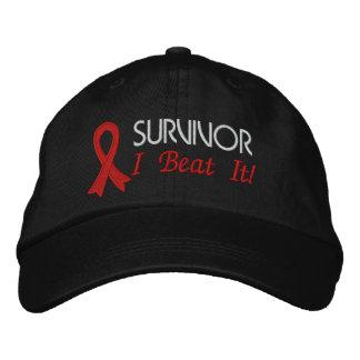 Survivor - I Beat It - Heart Disease Embroidered Baseball Cap