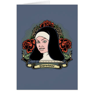 Survivor Nun Greeting Card