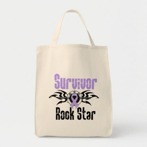 Survivor Rock Star - Cancer Survivor Bags