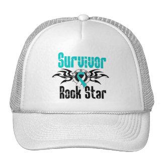 Survivor Rock Star - Cervical Cancer Survivor Mesh Hats