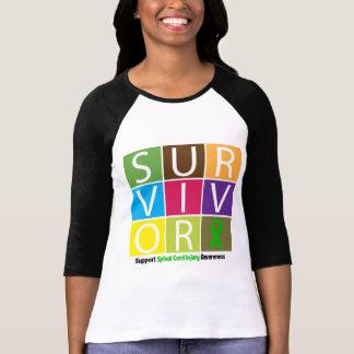 * Survivor Tile Spinal Cord Injury Shirts