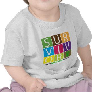 * Survivor Tile Spinal Cord Injury Tee Shirt