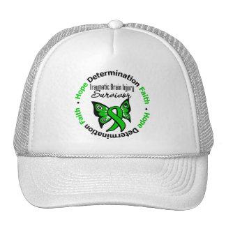 Survivor Traumatic Brain Injury v2 Trucker Hats