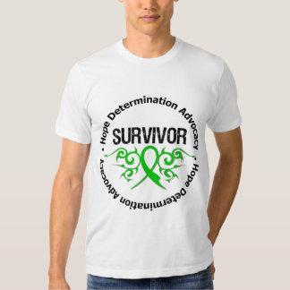 Survivor Tribal Ribbon Spinal Cord Injury Shirt