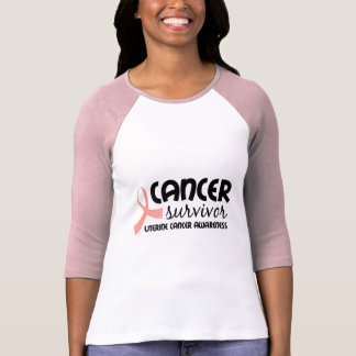 Survivor - Uterine cancer awareness T-Shirt