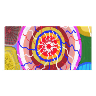 Surya Chakra - Sun Source Energy Customized Photo Card