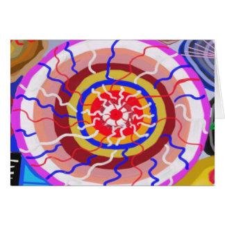 Surya Chakra - Sun Source Energy Greeting Card