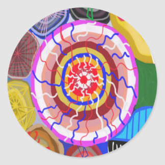 Surya Chakra - Sun Source Energy Round Sticker