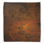 Suryasta Sun Salute Abstract Art Kerchiefs