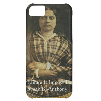 Susan B Anthony Wisdom Quote Gifts & Cards iPhone 5C Case