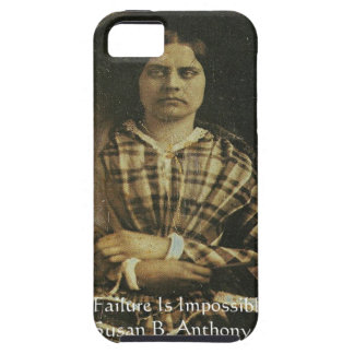Susan B Anthony Wisdom Quote Gifts & Cards Tough iPhone 5 Case