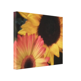 Susan's Bouquet Stretched Canvas Print