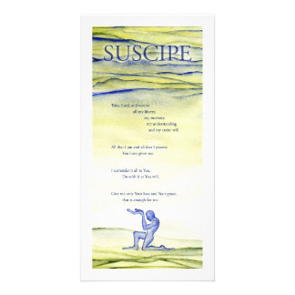Suscipe (Prayer of St. Ignatius) Photo Card Template
