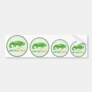 Suse United Linux Bumper Stickers