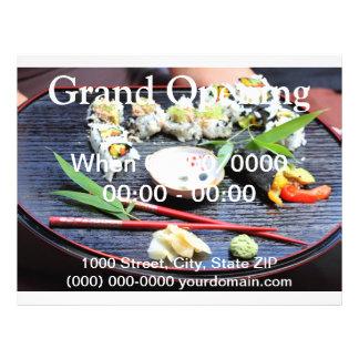 Sushi 21.5 Cm X 28 Cm Flyer