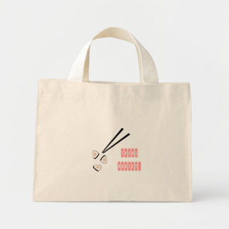 Sushi Addict Mini Tote Bag