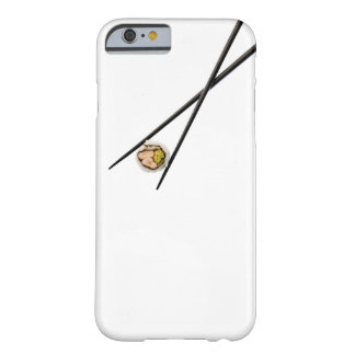 Sushi and Black chopsticks - Customized Barely There iPhone 6 Case