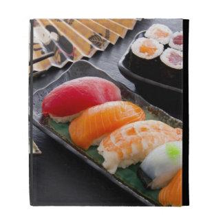 Sushi and rolls iPad folio covers
