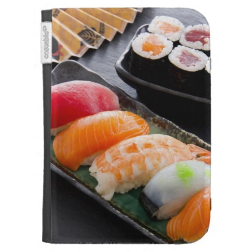 Sushi and rolls kindle 3G covers