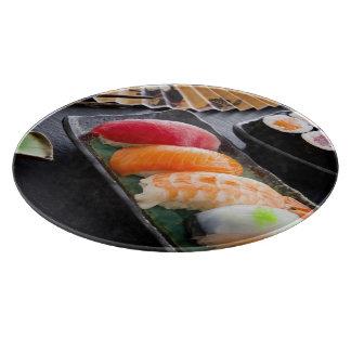 Sushi and rolls cutting board