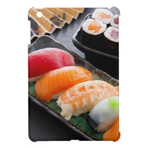 Sushi and rolls case for the iPad mini