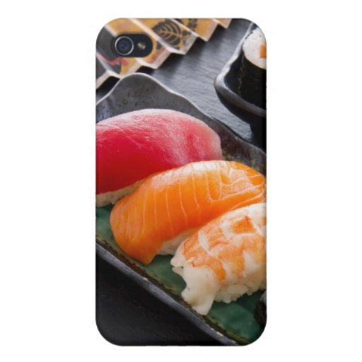 Sushi and rolls case for iPhone 4